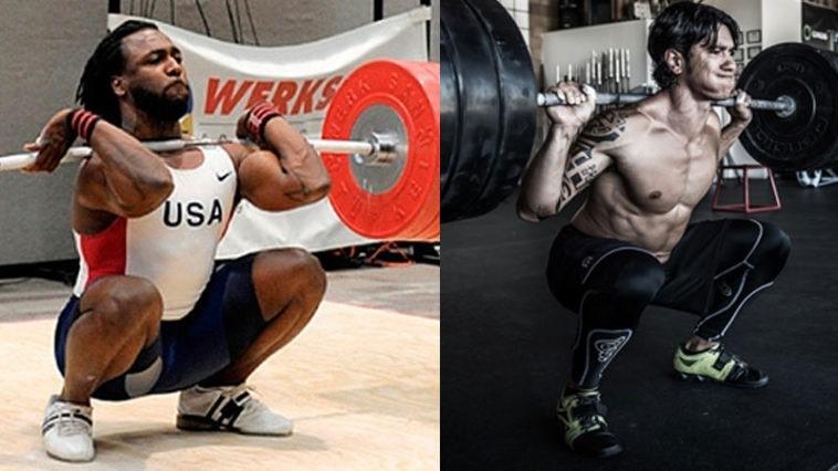 front squats vs back squats