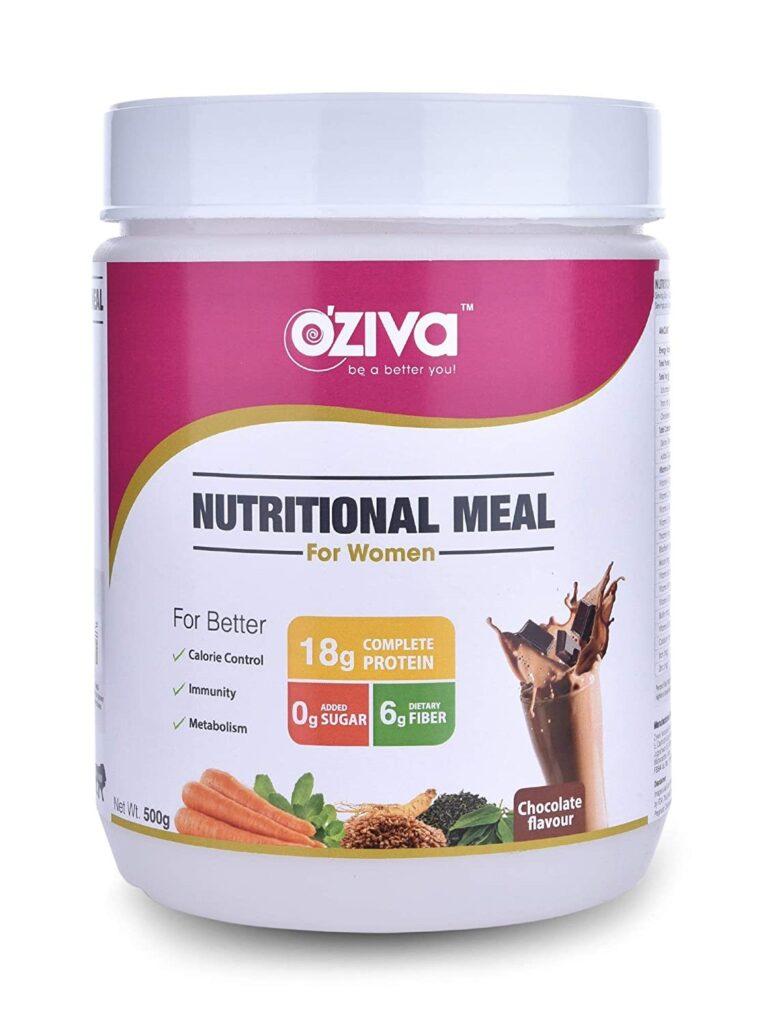 oziva nutritional meal for women
